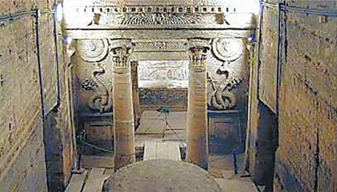 Εντυπωσιακό εύρημα εικάζεται ως ο τάφος του Μ. Αλεξάνδρου