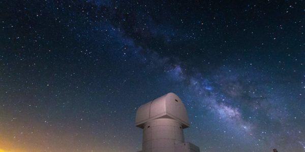 Αστροφωτογράφηση από την κορυφή του Χελμού